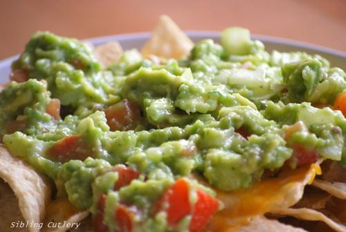 guac nachos