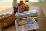 Bacon cream ingredients