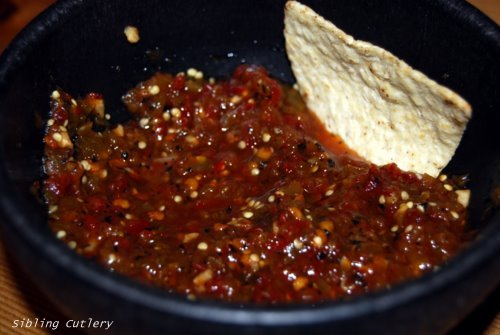 Flash in the Pan… Chipotle Salsa with Pan-Roasted Tomatillos ...