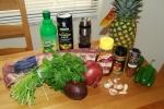 Cumin Ribs Ingredients